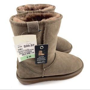 """NWT EMU AUSTRALIA """"Stinger Lo"""" sheepskin boots"""